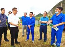 黄石市领导到中色大冶公司调研环保整改工作