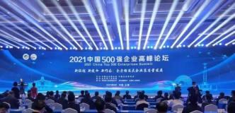 """金利集团获""""2021中国制造业企业500强""""荣誉"""