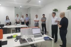 国家电投铝电公司总经理吴克明到遵义公司和绿能公司调研
