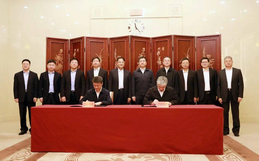 中铝集团与兵器工业集团签署战略合作协议