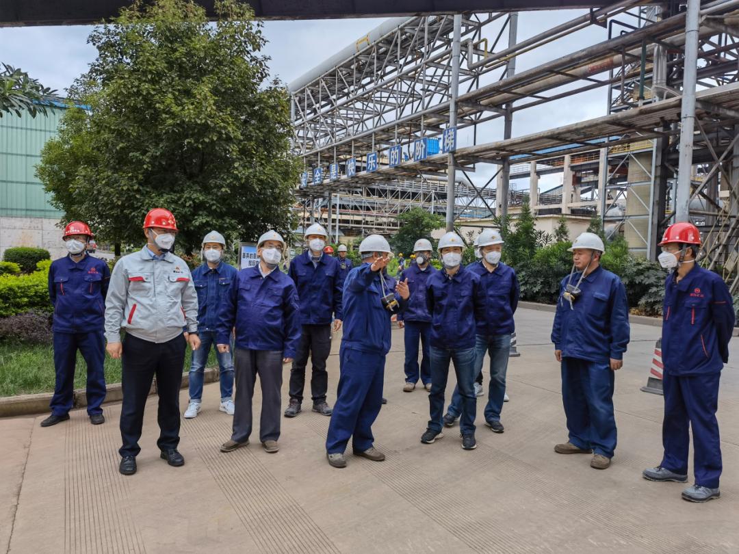 蒙自矿冶通过铅冶炼行业规范条件现场核查