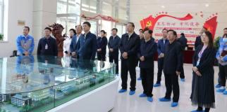 中華全國總工會書記陳剛蒞臨青海諾德、青海電子視察指導