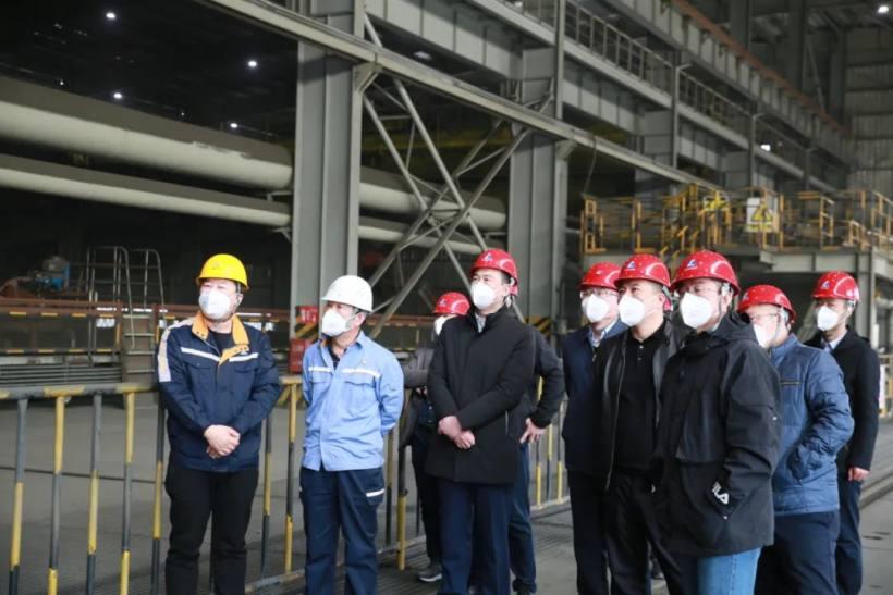 中国铁路沈阳局副总经理刘霆一行到赤峰云铜调研