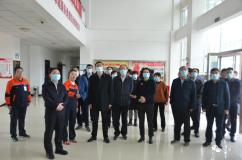 河南省人大常委会副主任李公乐一行到朝辉铜业调研