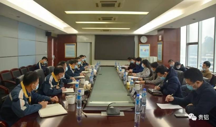 贵阳市委常委、宣传部部长孙绍雪到中铝贵州企业调研