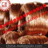 供应高质量弹性光面T2紫铜线 ,扁紫铜线