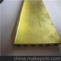 加工H59黄铜型材-国标黄铜排厂家-湖北黄铜异形排生产
