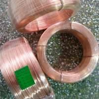 巨盛專業生產紅銅鉚料線 焊槍導流件純紫銅夾座銅頭用紅銅線
