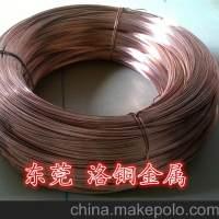 东莞洛铜 现货T1/T2纯紫铜线 导电焊接用,来图定做异形铜线