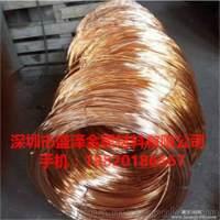 供应江铜C5191磷铜扁线 弹簧专用磷铜线 C5210压扁磷铜线