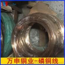 精密弹簧专用高弹性C5191磷铜线 磷青铜扁线 四方异形磷铜线