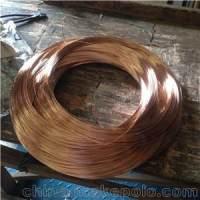 高弹性Qbe2铍青铜线 半硬铍铜线0.4 0.5mm耐疲劳铍铜线