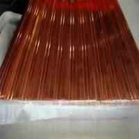供应异型材加工 专业加工 生产紫铜排4*50mm 规格齐全