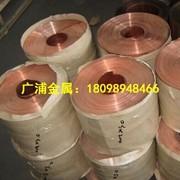 批發導電紫銅板 變壓器紫銅帶 電纜紫銅帶、T2紫銅箔