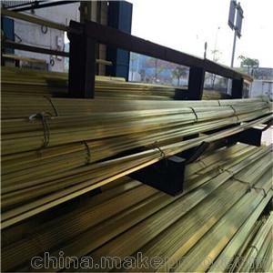 批發H59黃銅扁條-江西10*70mm黃銅排-長沙黃銅型材廠家