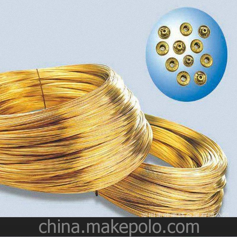 進口現貨CuZn30鉛黃銅線