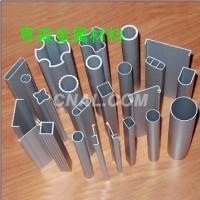 异型铝管型材 磨砂氧化铝管