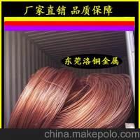 热销 T2导电专用紫铜线,优质TU2无氧铜线,定做异形紫铜线