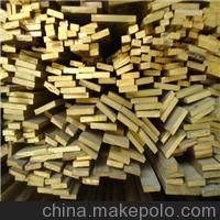 装饰H59黄铜型材/水磨石黄铜压条3*40mm/异形黄铜扁排开模