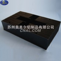 苏州高倍齿铝型材散热器