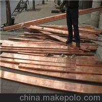 T2紫铜排/异形紫铜型材厂家/接地导电紫铜扁条销售