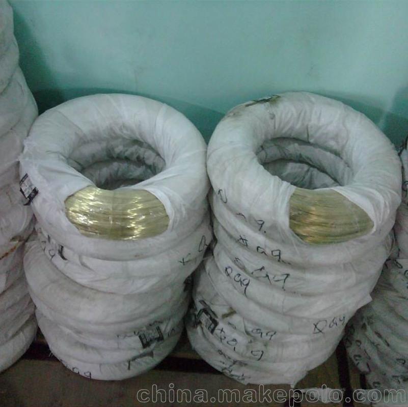 厂价供应黄铜线 批发 铜线 优质黄铜螺丝.弹簧线 无铅 锡铝铜线
