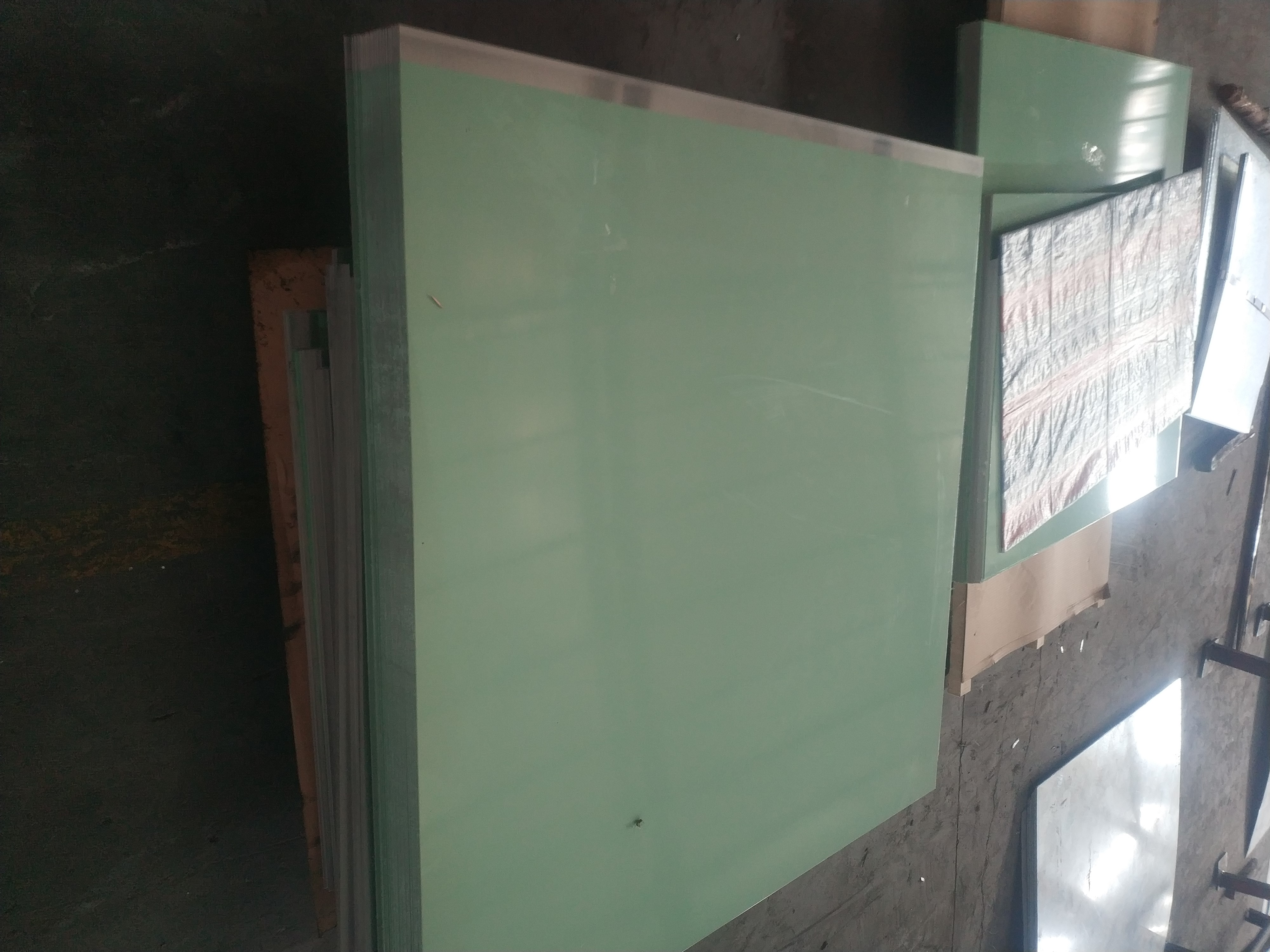 1060双面覆 白膜豆绿膜透明膜