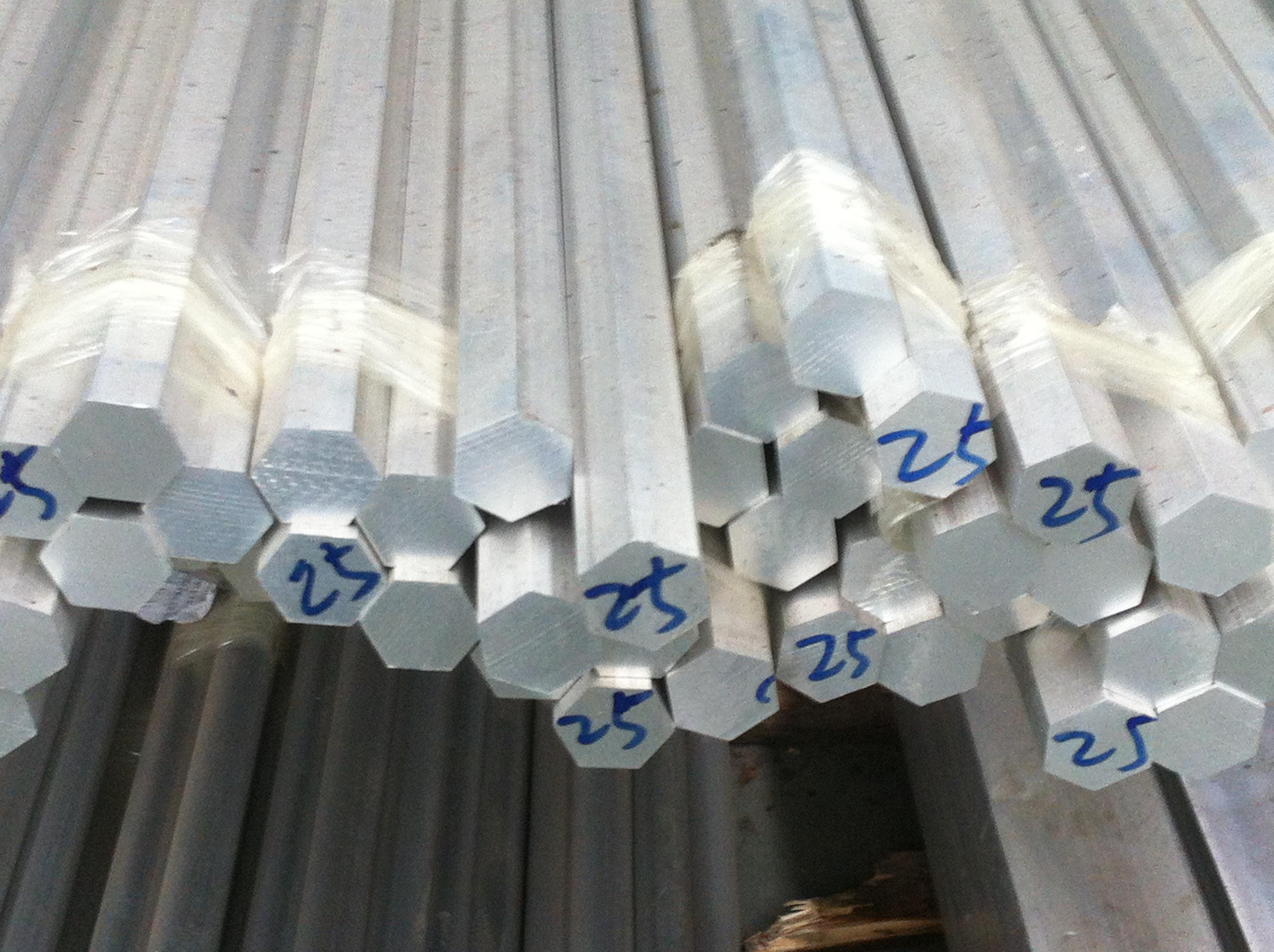 六角铝棒 6061合金六角铝管
