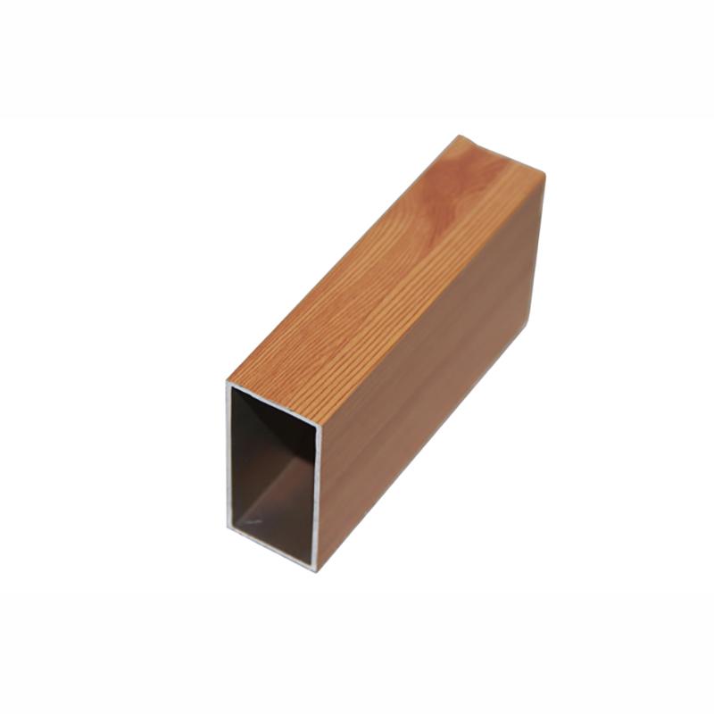 佛山铝型材定制加工厂木纹铝方管