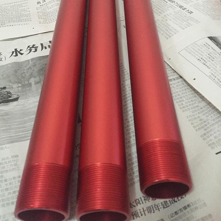 彩色氧化铝管 阳极喷砂氧化铝管