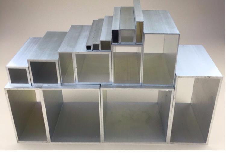 国标铝方管 铝方棒 铝扁通铝方通