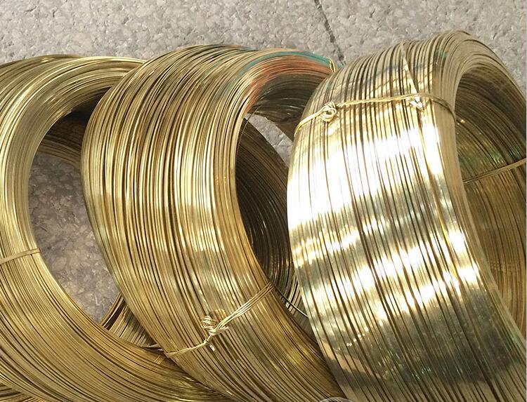 h65黃銅扁線 黃銅方線 黃銅絲