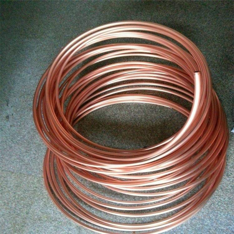 天津空调铜管8×1包塑紫铜管价格