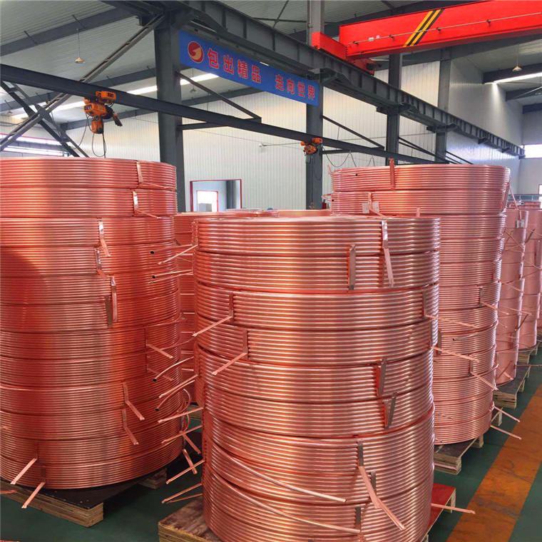 新型脫氧紫銅管 醫用16紫銅盤管