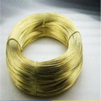 环保H65光亮黄铜线 装饰黄铜线