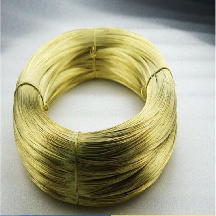 优质H65软态黄铜线 超细黄铜线