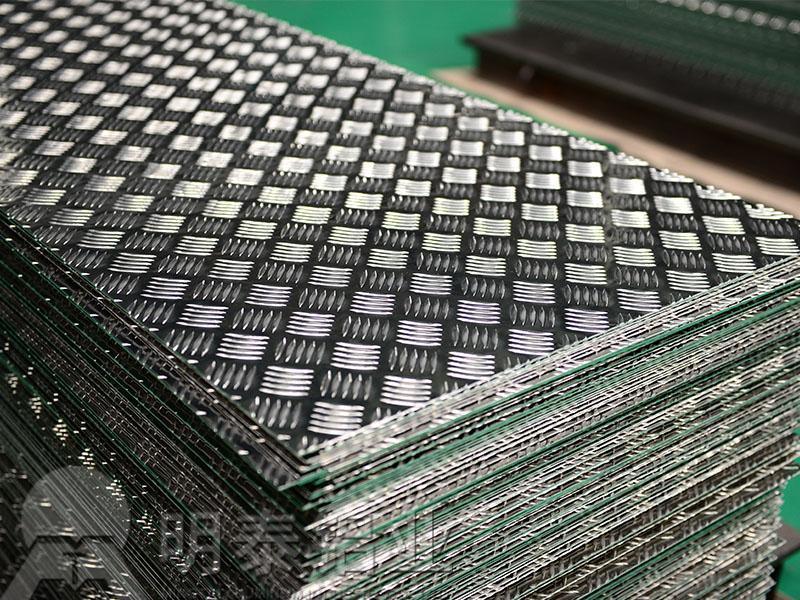 升降平台用5052花纹铝板
