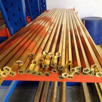 环保H62六角黄铜棒 精拉黄铜棒