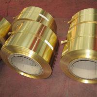 半硬黄铜带 H65超薄黄铜带