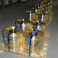 浙江H62半硬黃銅帶耐沖壓黃銅帶