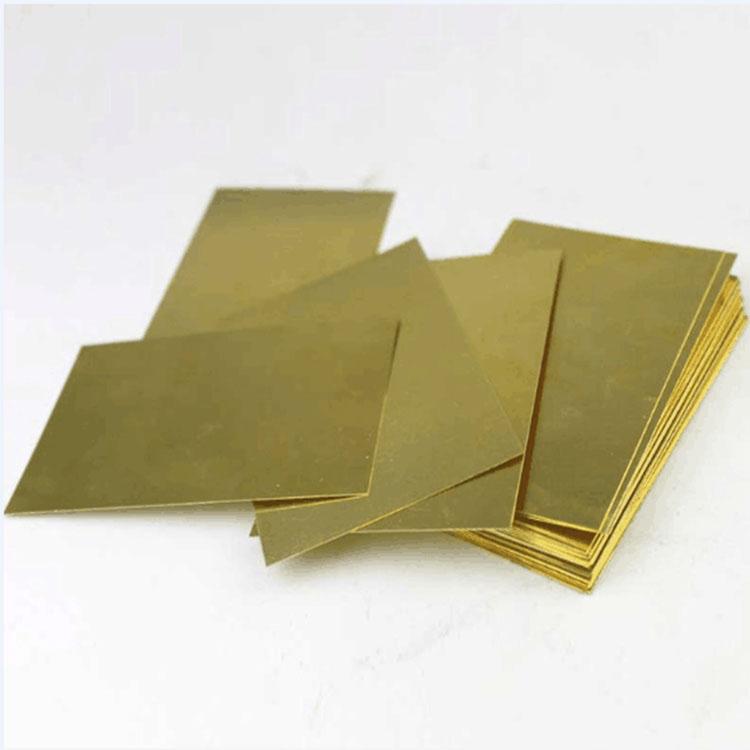 國標C1720半硬黃銅板塑性優