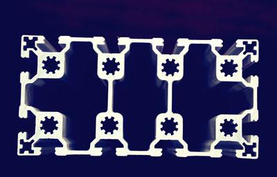 供应工业流水线导轨和支架型材