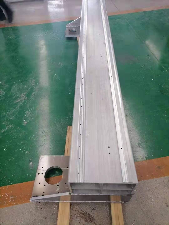 专业生产铝横激光切割机铝合金横梁