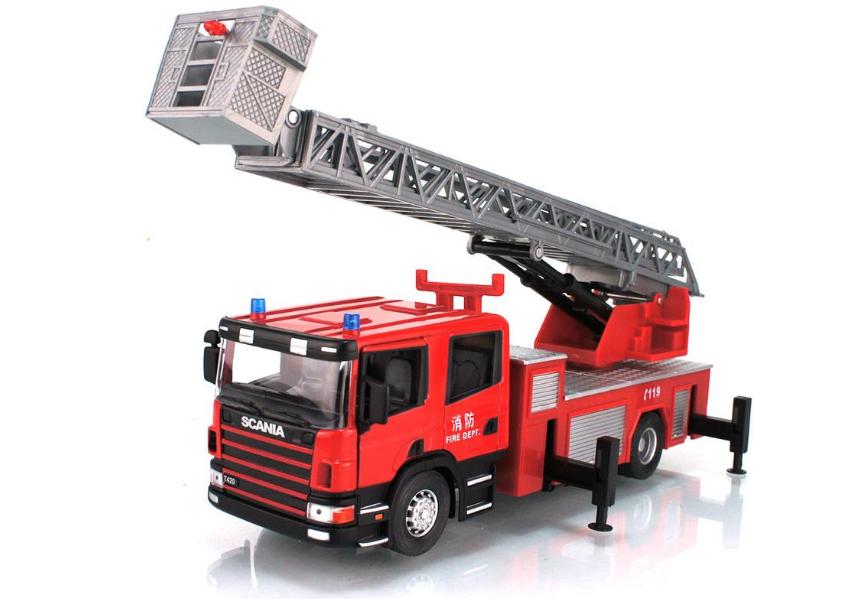 大型消防车云梯铝合金梯臂伸缩臂架