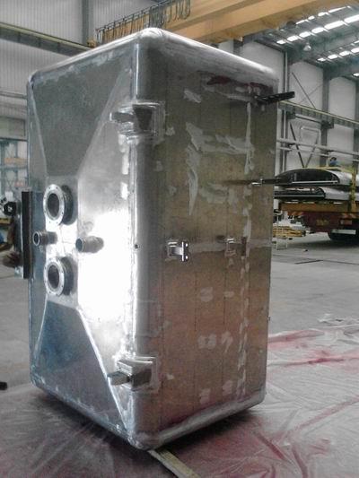 山东铝箱体铝合金箱体结构铝箱焊接