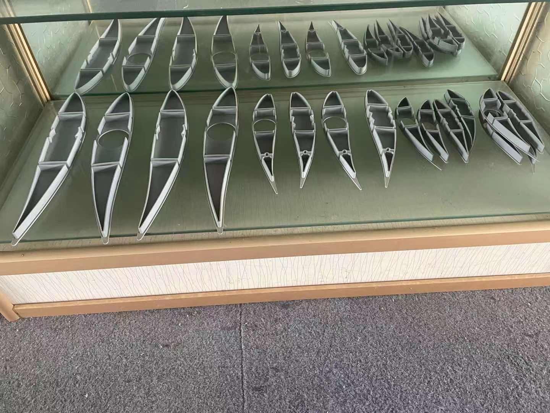 浙冷却塔铝合金风叶型材铝制风机叶