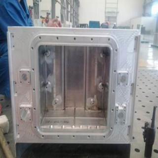 铝壳铝制品铝壳体结构焊接加工折弯