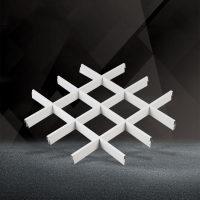 白色铝格栅150x150铝格栅