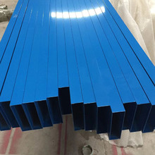 30x150铝格栅蓝色铝方通