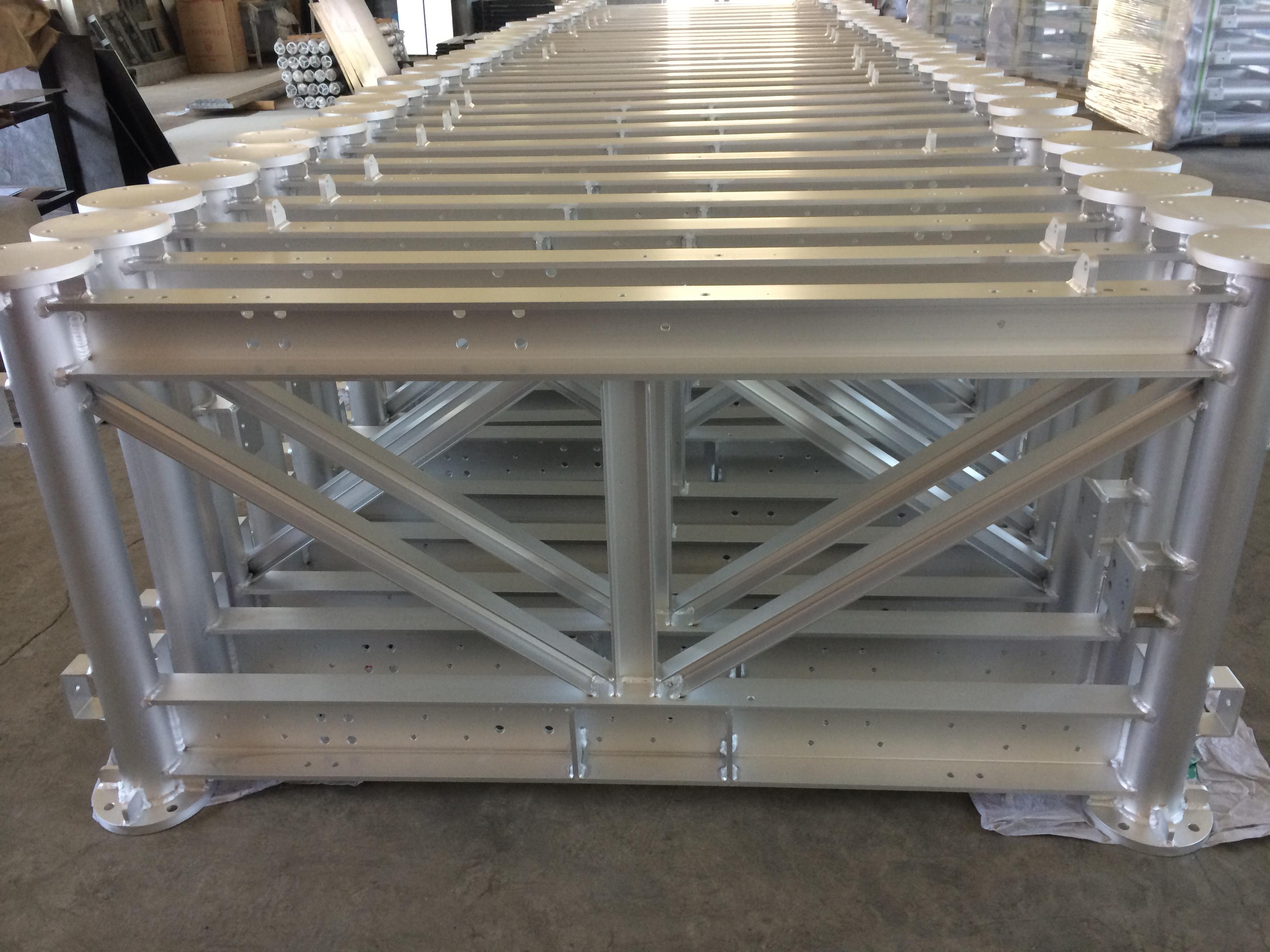 鋁合金折彎框架焊接質量保證百斯特